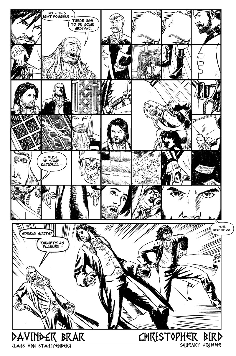 Book One, Page Nine