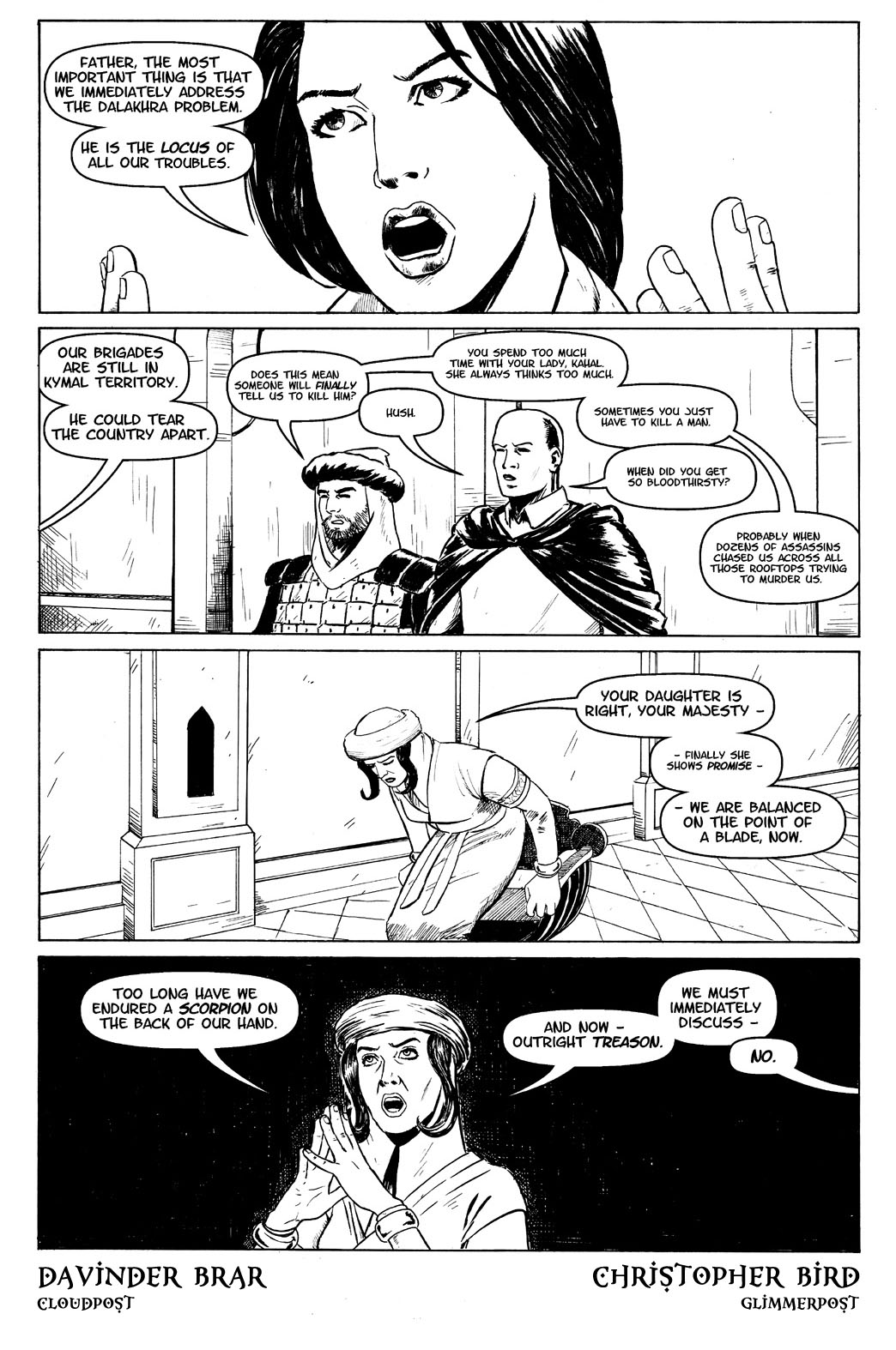 Book Six, Page One