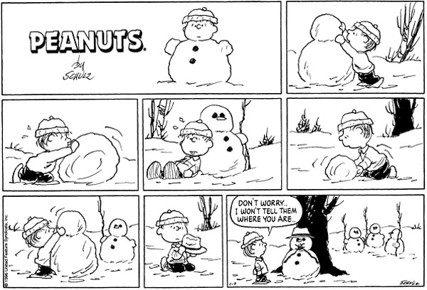 sally and linus relationship quiz