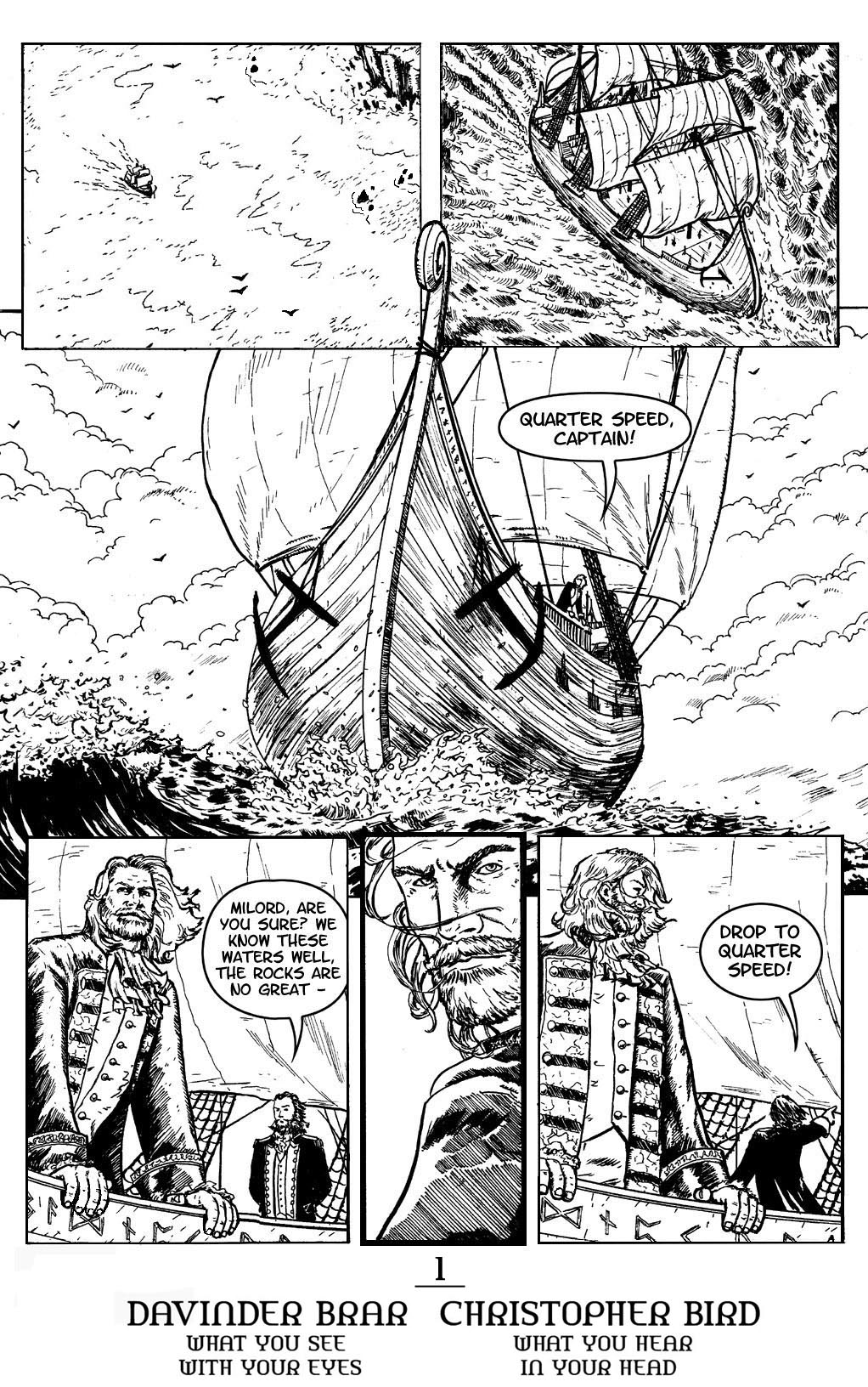 Book 1, page 1