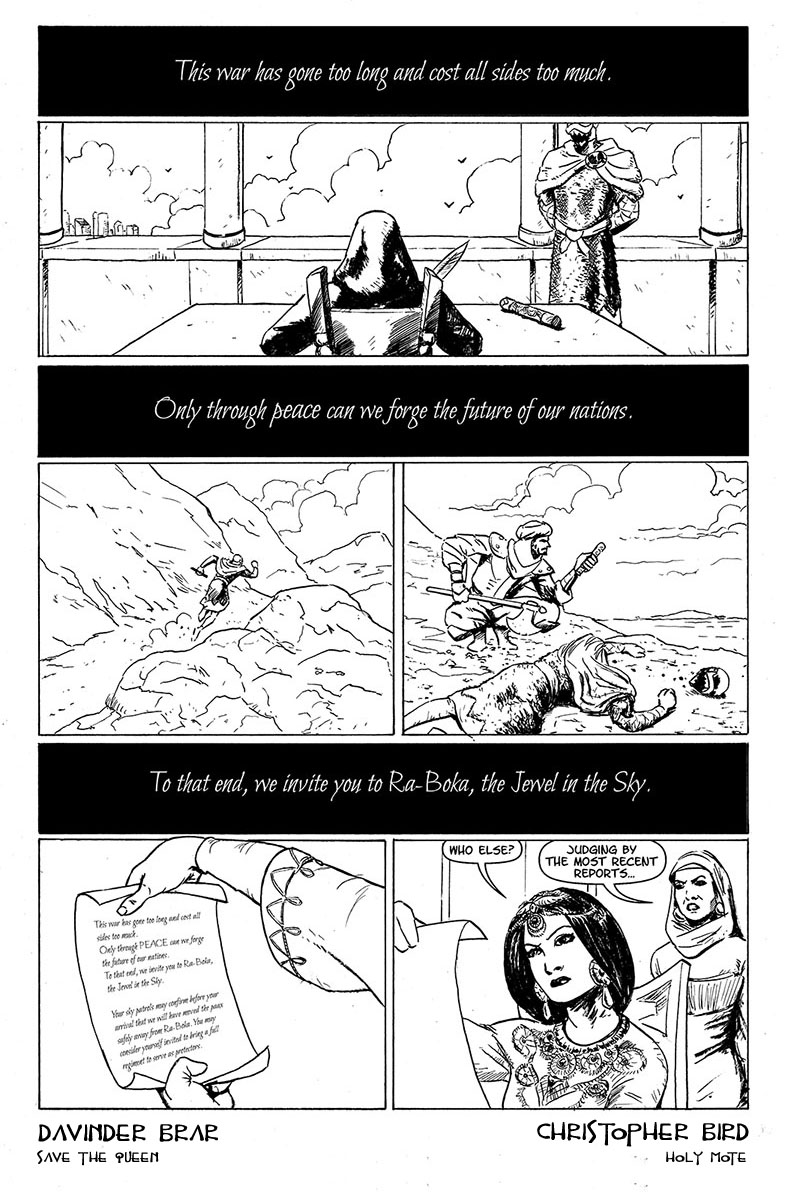 Book One, Page One